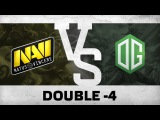 Watch first: Double -4 by Na`Vi vs OG @ Starladder | i-League Invitational #1