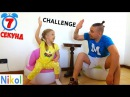 ЧЕЛЛЕНДЖ 7 СЕКУНД от Канала Николь Challenge 7 seconds from the Channel Nikol CrazyFamily