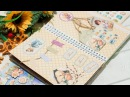 Разворот в личном дневнике к Пасхе| Мой личный дневник Scrapbooking| Настя Клевер