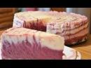 Муссовый торт десерт Творожно черничный мусс