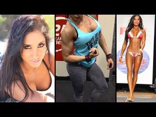 NARMIN ASSRIA - IFBB Bikini Pro: Exercises for Building Lean Muscle @ USA