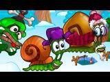 Мультфильм УЛИТКА БОБ 6 - Зимняя История: 1 часть. Мультики для самых маленьких. Игровой мультик.