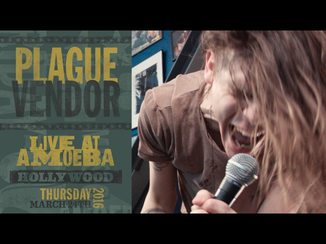 Plague Vendor - Live at Amoeba