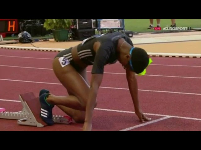Women's 400m Hurdles Final IAAF Diamond League Monaco 2016