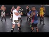 Low Kick To Uppercut Technique