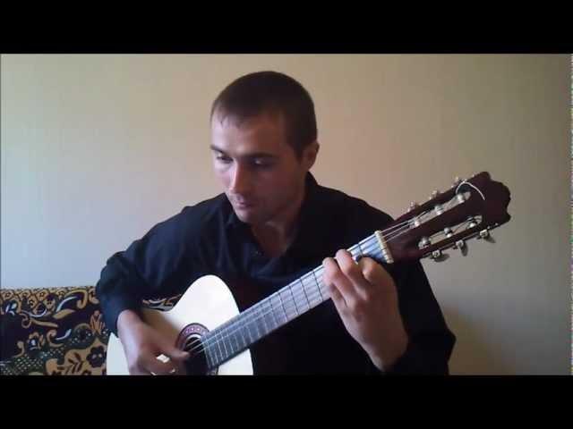 Pour L'amour d'un Garcon - Музыка из т/с Элен и ребята(аранжировка для гитары)