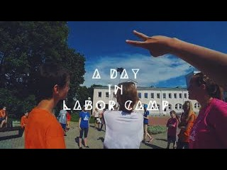 A DAY IN LABOR CAMP | first person video