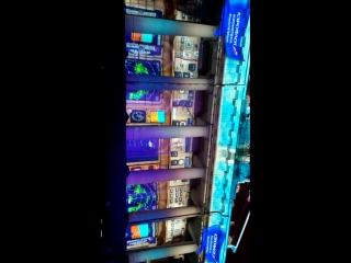 2.Световое шоу от Аэрофлота на здании Биржи, СПб март 2016