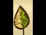 кованые витражные листики