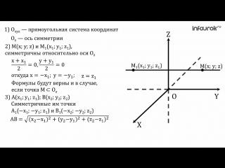 геом 11 осевая симметрия