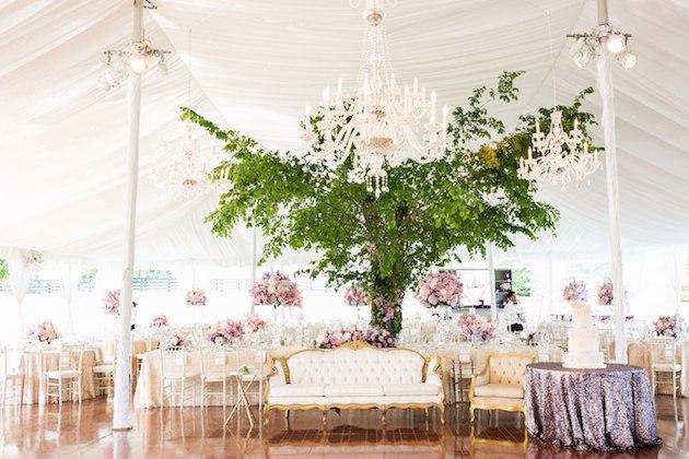 pgpxkNRyXSM - Живые деревья в свадебном декоре