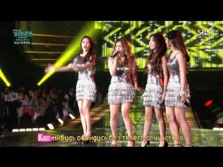 Luna (f(x)), Eunji (APink), Ailee, Solar (Mamamoo) - I will survive (Im Alright) (рус. караоке)