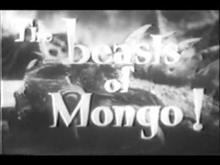 «Флэш Гордон» — киносериал 1936 года, о трёх людях с Земли, прилетевших на планету Монго, чтобы победить злого императора Минга