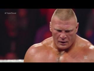 2015 Royal Rumble - Brock Lesnar vs. Seth Rollins vs. John Cena (WWE World Heavyweight Title Triple Threat No DQ Match)