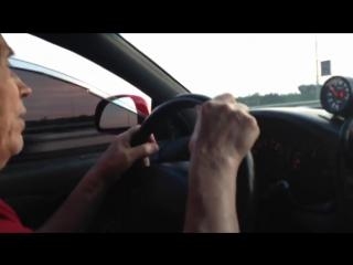 Дед тестирует тачку внука! Mitsubishi Eclipse (6 sec)