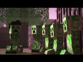Creeper Encounter - Minecraft Animation - Slamacow_HIGH