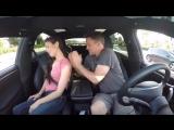 Семейная поездка на автопилоте Tesla