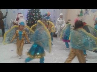Танец павлина.Жанель мини центр