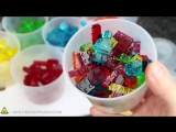 Как сделать мармеладные конфеты в форме LEGO