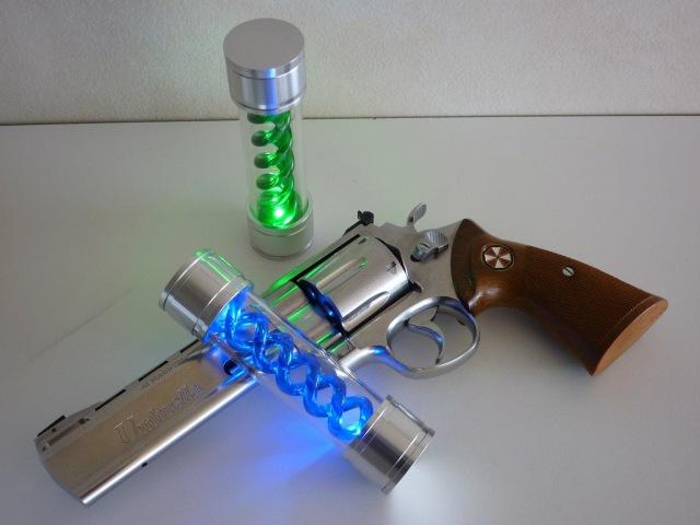 HCG Resident Evil (Biohazard) T-Virus Anti-Virus Prop Replicas