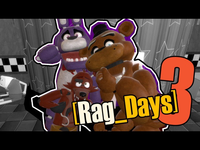 [Rag_Days] 3 Ванильная тварь (five nights at freddy's GMod rag days)