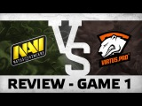 Match review: Na`Vi vs VP - Game 1 @ ESL One Frankfurt EU