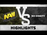 WATCH FIRST: Highlights (game 2) - Na`Vi vs No Diggity @ ESL One Qualifier