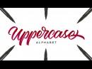 Hand Lettering Tutorial for Beginners   Uppercase Alphabet