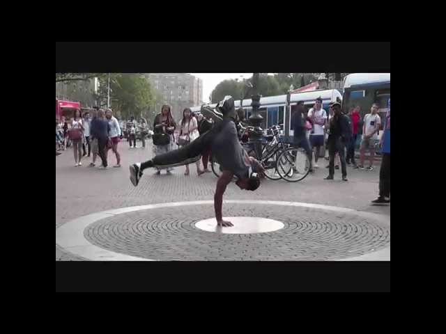 Street Dance - Break Dance - RAW - Skill Dealers Crew - Amsterdam Street entertainment.