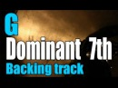 Jazz backing track | G dominant 7th | bass & drums only