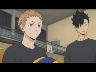 Волейбол Смешной момент из аниме прикол