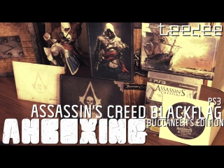 .TDstd. Распаковка Assassins Creed Blackflag Buccaneer Edition PS3 Unboxing Review