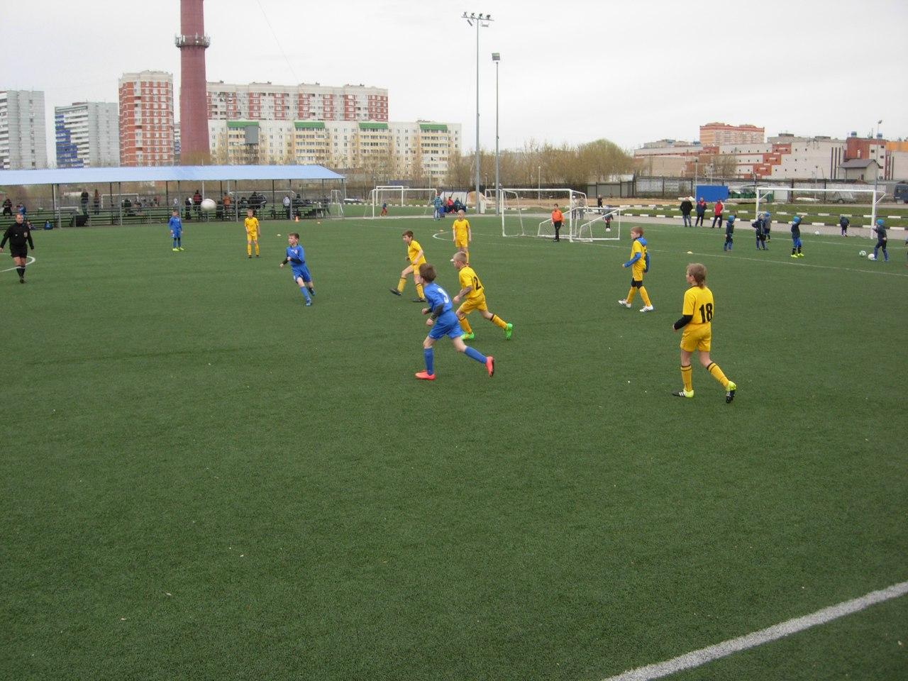 Команды ДЮСШ «Витязь» 2005 и 2006 г.р. 30 мая провели свои матчи в Первенстве МО