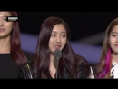 151202 Twice получают награду Best New Female Artist на премии @ Mnet Asian Music Awards 2015.