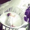 Овальная кроватка трансформер 7 в 1 BabyKomfort