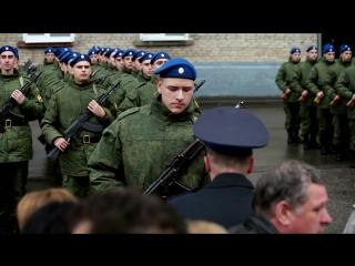 Дмитрий Грудинин. Президентский полк. Присяга. 2016