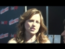 NYCC 2015 Lucy Lawless Talks Ash vs Evil Dead and How to Avoid Blood and Goop