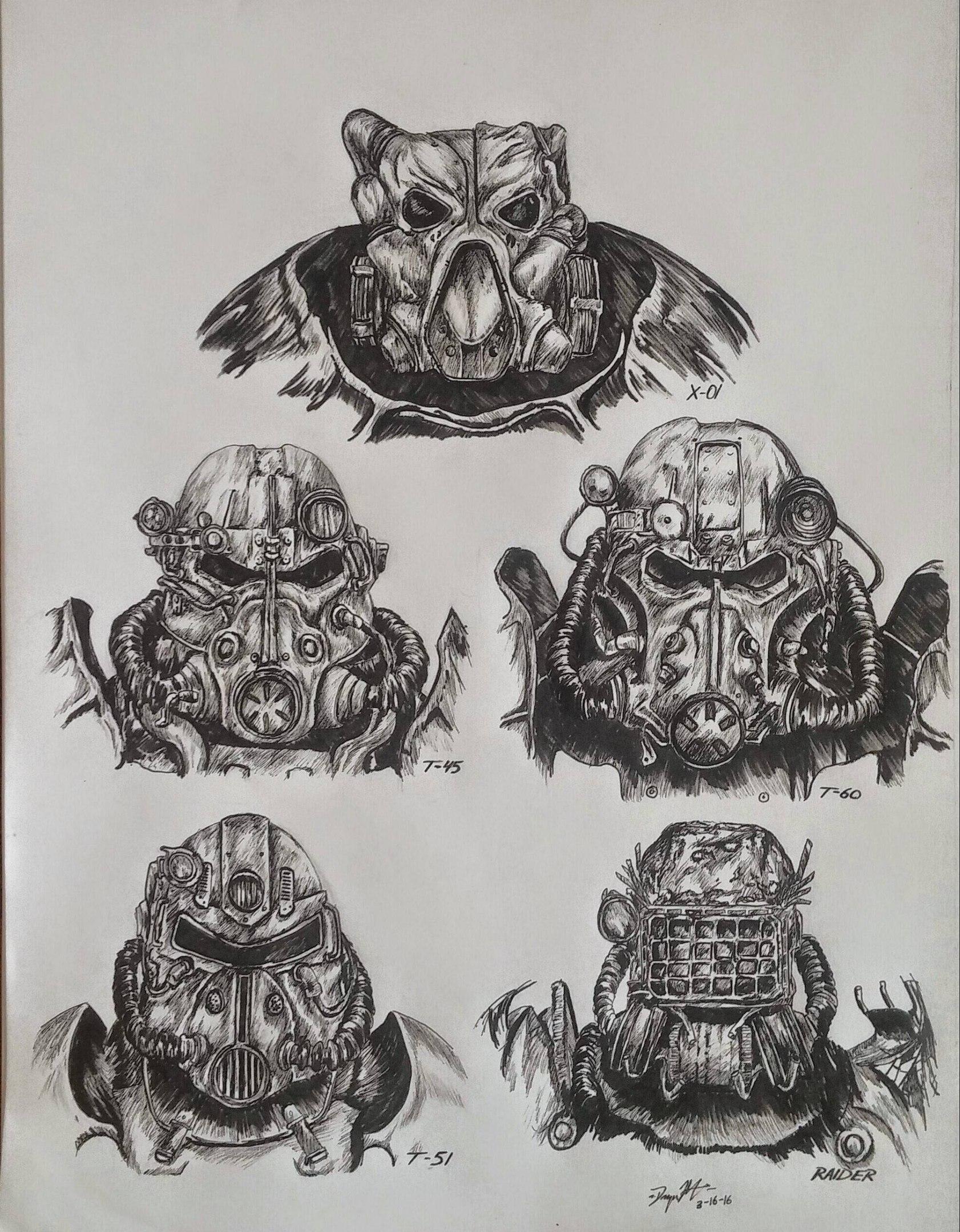 Арт броня  Fallout4