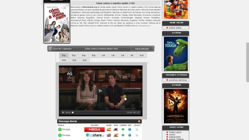 Como Conoci a Vuestra Madre Serie Completa (9 Temporadas) en Audio Latino,Español y Subtitulado [www.peliculaskid.org]