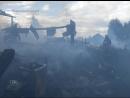 В Тогуре от огня пострадал жилой дом, сгорели иномарка и надворные постройки