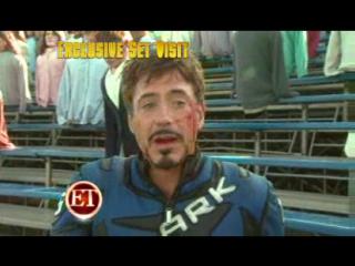 Железный человек 2/Iron Man 2 (2010) Репортаж ET о съёмках №2