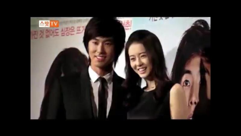 Fancam_Event_090902 Yunho taken photos with Lee Yoon Ji Go Ara