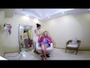 Видео жесть - Дарья Пынзарь без нарощенных волос и процесс наращивания.