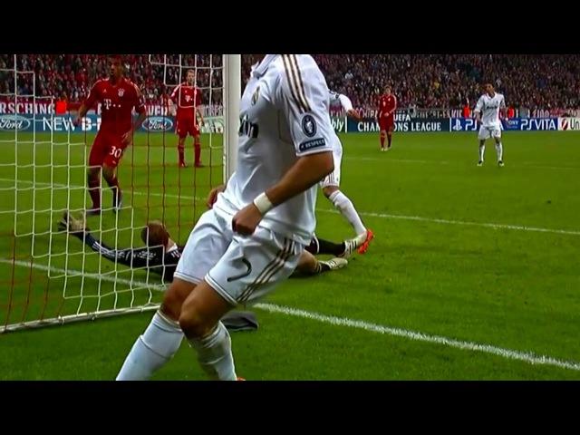 Бавария vs Реал Мадрид 2 1 Лига Чемпионов 2011 12 HD