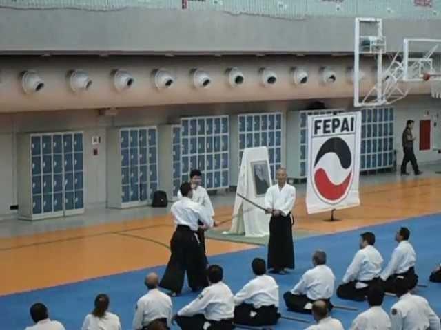 Seminário Inagaki Sensei SÃO PAULO (16/JUN/2012) - treino com Boken
