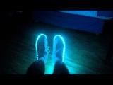 LED Luminous Shoes Sneakers - Simulation