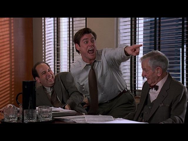 Лжец, лжец - Сцена 67 Отжиг на заседании (1997) HD