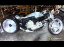 2015 BMW K1600GTL Ken's Factory Special Custom BIke - Walkaround - 2015 EICMA Milan