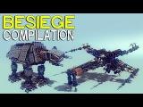 ►Besiege Compilation - Star Wars edition