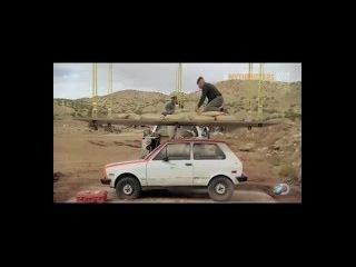 Разрушители легенд / Финальный Сезон 16 /Эпизод 04/ 2016 /MythBusters- Driven to Destruction